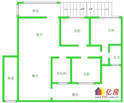 后湖 新地东方明珠三期 3室2厅2卫  127㎡ 送大花园!