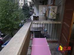 武昌区水陆小区三楼,全朝南奇缺户型,带两个大阳台朝南