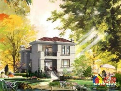 超超超美的独栋别墅,风景优美景色怡人商圈成熟交通便利