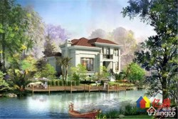 新房无税,温莎半岛大独栋+自带200平花园+临湖而居+适合养老