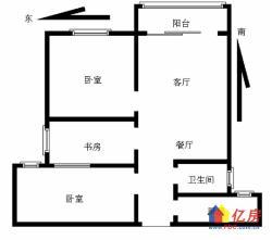 七里庙地铁口 钰龙湾 墨水湖公园 户型正 有钥匙看房 诚售