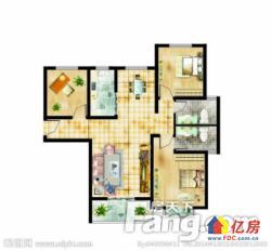江汉路轻轨旁宝利金两证已满2年2房2厅朝南看江电梯好房出售