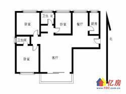 福星城南区 3室 2厅 126.8平米