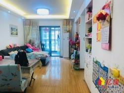 广电江湾新城 精装两房两厅 拎包入住 随时看房 老证