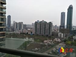 江汉区 王家墩东 万豪国际 3室2厅2卫  167㎡一线湖景