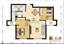 地图8号线口中装好楼层超值两房便宜出售