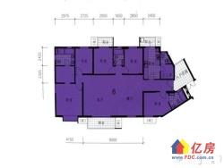 新房:都会轩现房+无后期费用+206平五房+24楼+可随时看