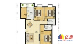 积玉桥地铁房阳光水岸3室2厅2卫绝版好户型 3室2厅2卫 134㎡