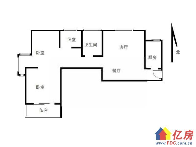 顶琇国际城 中高楼层 居家3房,拎包入住,随时看房,武汉江汉区汉口火车站汉口发展大道地铁6号线唐家墩站B出口对面二手房3室 - 亿房网