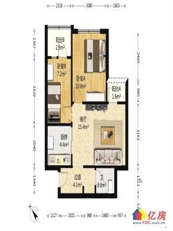 融科天城三期,精装修两房,总价低高楼层 视野无遮挡 老证