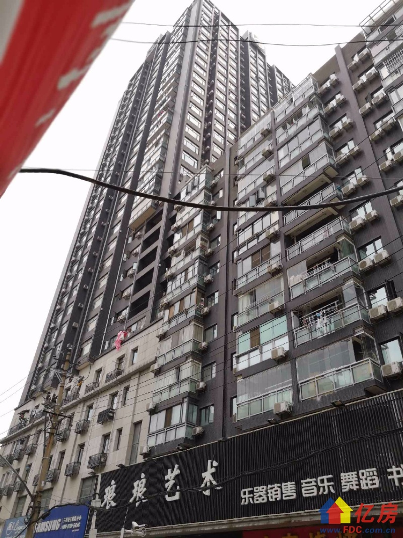 兰陵大公馆,精装修一居室,外阳台,两证两年,温馨,采光好,武汉江岸区大智路胜利街139-177号二手房1室 - 亿房网