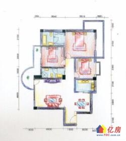 碧波山庄 3室2厅2卫  大三房  超低价  单价只有7300!