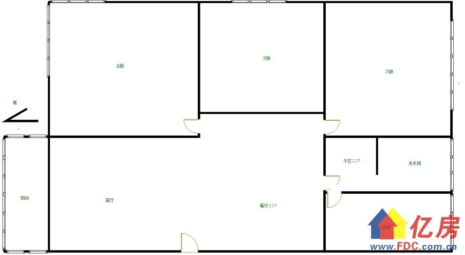 紫薇花园 轻轨口 对口韩小 看江电梯三房 老证 南北通透,武汉硚口区古田硚口区解放大道134号二手房3室 - 亿房网