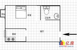 优选街道口亚贸陆总盒马武理工旁泓悦府公寓精装修44平双地铁口