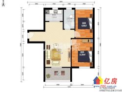 金银湖新城璟汇,新出全新精装两房,电梯高层,看房方便!
