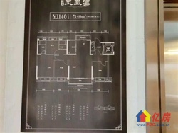 碧桂园凤凰湾D铁口旁自带精装住宅双阳台湖景洋房户型超好