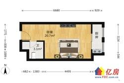 8号线地铁口公寓 带天然气 1居室适 合外的青年人