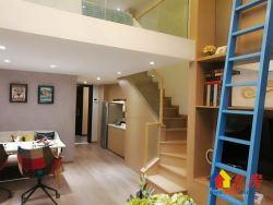 汉口白金壳子复试公寓带天然气武汉客厅对面 开发商直售