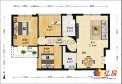 福星城南区好楼层超值三房最便宜的一套三房