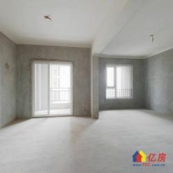 名流公馆 纯毛坯77平两室两厅 中间楼层 看房方便