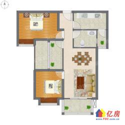 武昌小东门紫沙金苑 3室1厅1卫 90平米