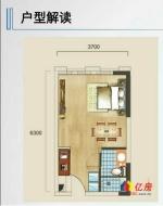 地铁2号线 光谷核心地段 精装小户型公寓 首付17万起 现房,武汉洪山区街道口关山楚雄大街958号二手房1室 - 亿房网