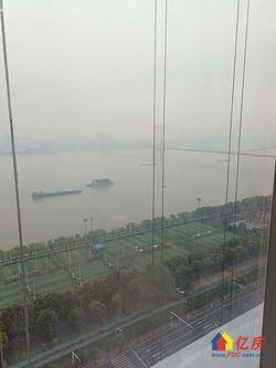 滨江内环,江景房loft,双面采光,挂角户型,270度观江