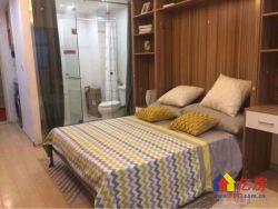 光谷步行街精装公寓民用电包租12年起,返租金80元起每平米