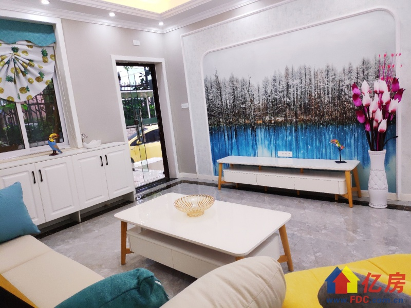 湖影公寓一楼罕见带私家小院四室105平零公摊205万有钥匙,武汉江汉区新华西北湖路14号二手房4室 - 亿房网