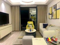 (售楼部直售新房)阳逻地铁口,不限购住宅,精装三室两厅送阳台