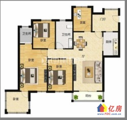 东湖高新区 大学科技园 中冶南方韵湖首府 5室2厅2卫