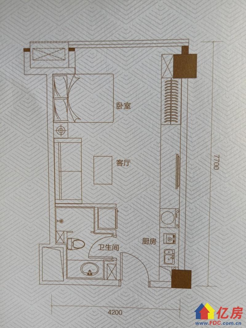 地铁口现房(首付30万)一一居家小户型众圆旁十任家路中学,武汉青山区建二武汉市青山区建设一路与建港南街交汇处二手房1室 - 亿房网