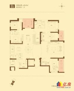 江汉路江景房 新港长江府 5室3厅3卫  351㎡ 毛坯 1200万出售