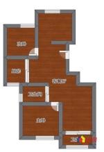 白沙洲 新力成 三室两厅 南北 通透 急售,武汉洪山区白沙洲洪山区南郊路与三环交汇处二手房3室 - 亿房网
