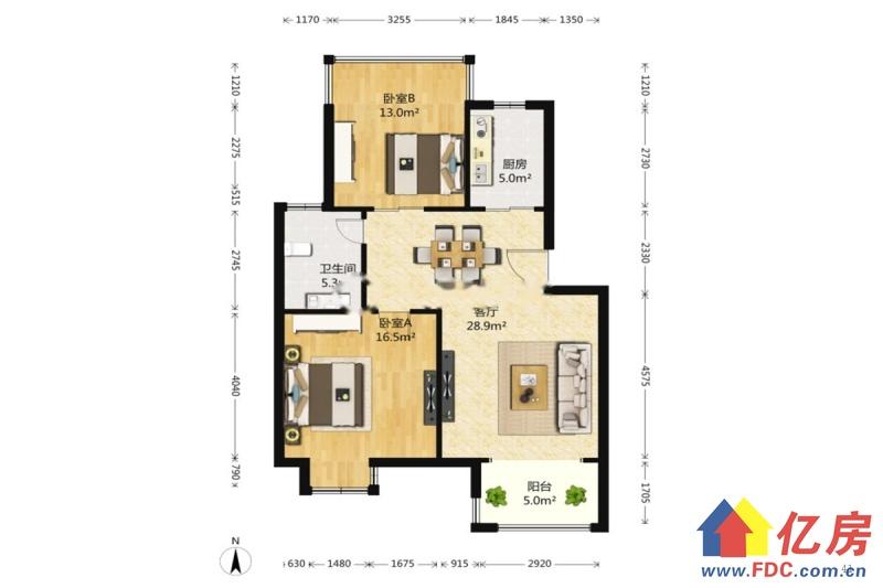 楼梯一楼小户型,新装修,新家具电,即买即住,武汉东西湖区金银湖马池中路1号(环湖路与铁塔大道交汇处)二手房2室 - 亿房网