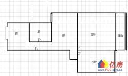 中南/小东门地铁 第二制药厂宿舍 简装两室一厅 老证满五唯一 业主急售
