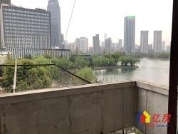 香港路地铁口 物资局宿舍 品型两房 老证 一线湖景 中间三楼