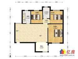 12号线地铁口 保利城 104平通透精装三房 低于市场价急售
