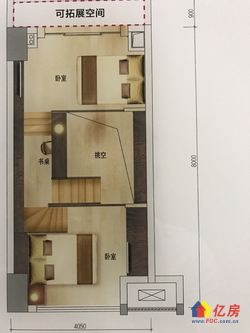 宏图大道地铁口,三地铁交汇,双层复式,天燃气入户,现房