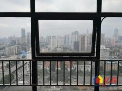 武汉广场轻轨旁天瑞国际两证已满2年1房1厅朝西精装电梯好房出