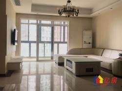 市政府旁棕榈泉小区 朝南看江三房 楼层好 户型佳 看房方便