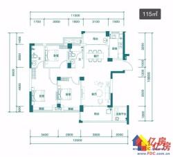 天屿湖 84万 3室3厅3卫 精装修,此房只应天上有!人间难得见一回啊!
