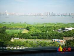 江岸区 二七 滨江苑三期 对口长春街小学 超大阳台 一线江景