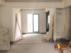 华科畔 金地华公馆清水毛坯三房 满2年 可凭喜好装修设计!