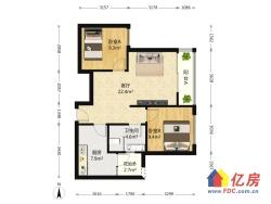 武汉天地二期A6 2室1厅 东南 南