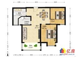 银湖水榭精装两房,高层湖景房,家具家电全送。