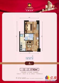 光谷商圈关山大道 对口光谷一小 唯一在售小户型住宅 带精装修