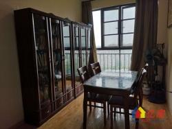 银湖水榭精装通透两房,带转角飘窗,一线湖景。
