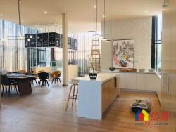 青山区 工人村 绿地派克公馆 复式公寓 小三房 地铁5号线 地铁口 新房