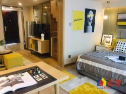 青山区 工人村 绿地派克公馆 3室2厅2卫  买一层送一层4.5米层高复式公寓